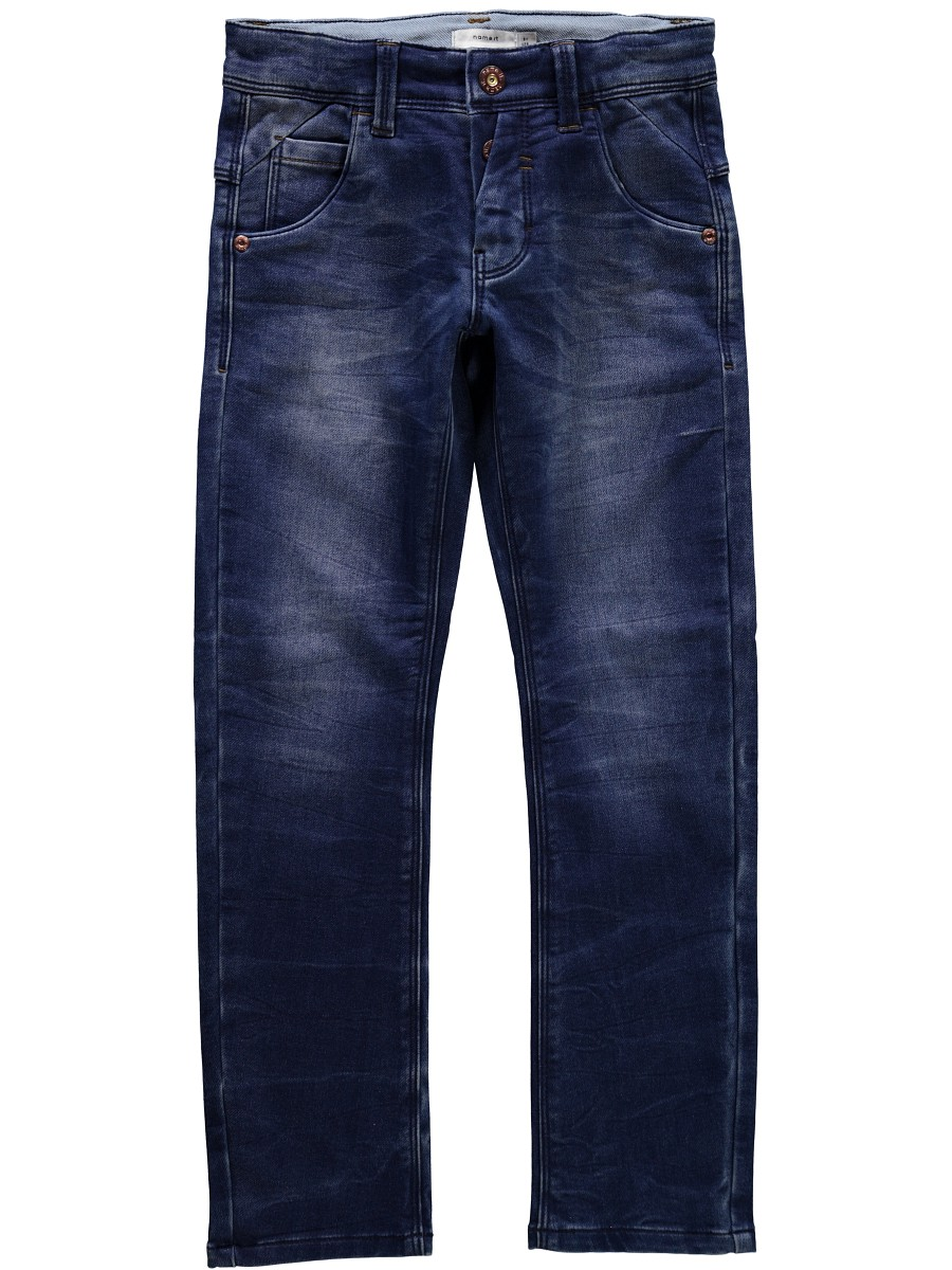 name it jungen slim fit jeans hose thorsten denim blau gr e 92 bis 164 ebay. Black Bedroom Furniture Sets. Home Design Ideas
