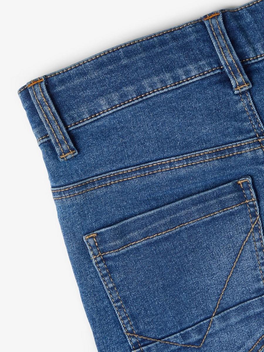 NAME IT extra enge Jeans Hose NKMTheo DNMTate blau Größe 92 bis 164
