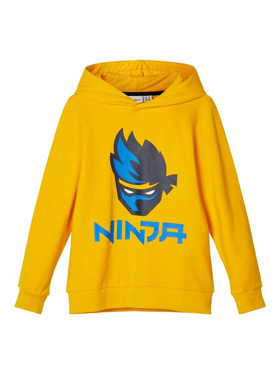 NAME IT kurzarm T-shirt NKMVictor gelb Surf Paradise Größe 122//128 bis 158//164