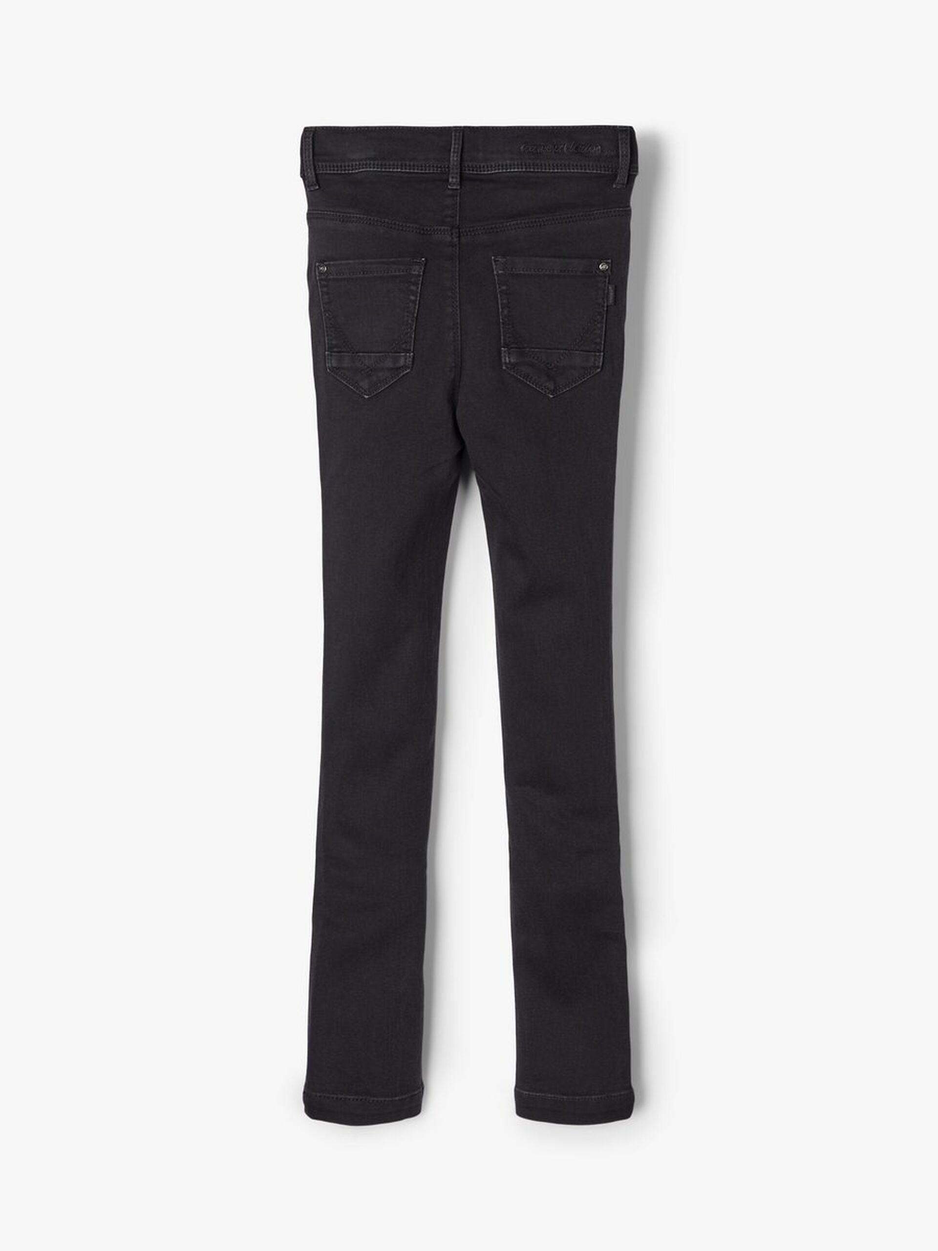 NAME IT Jeans Hose NKMRyan DNMCore schwarz regular Größe 128 bis 164