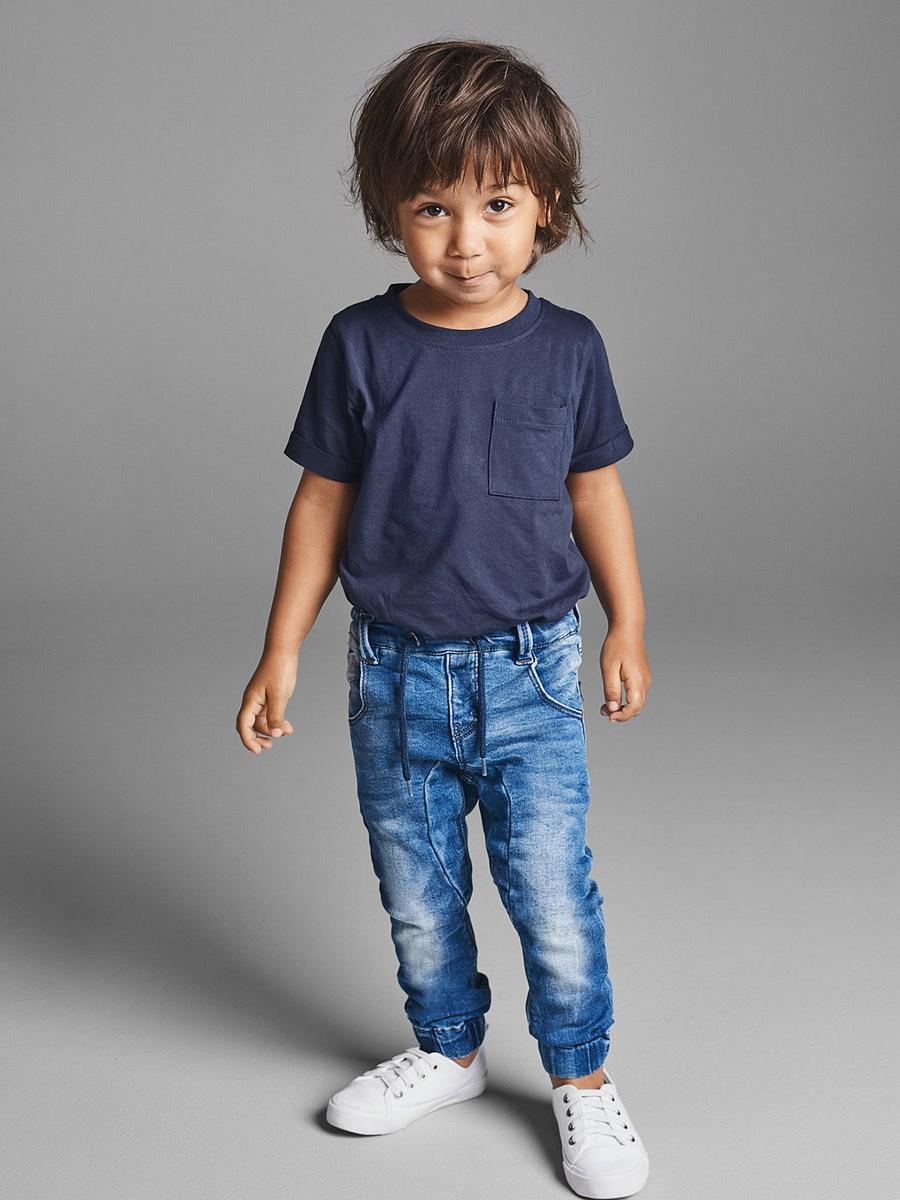 NAME IT Jungen Slim Denim Jeans Hose Tonny blau Größe 74 bis 98